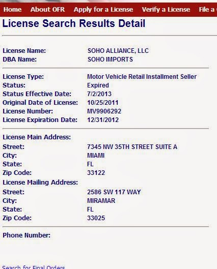 Is Rivsu A Licensed Car Dealer In Florida Nissan Forum Nissan Forums