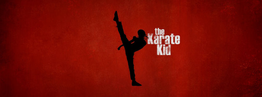 The karate kid facebook cover