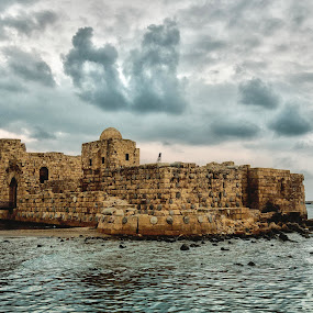 Saida by Anto Boyadjian - Buildings & Architecture Public & Historical ( saida, fortress, castle, fort, lebanon )