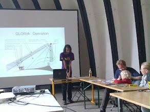Photo: gloria project workshop (cubesat) to meaure aerosols in the athmosphere.