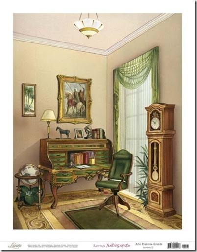 láminas antiguas, ilustraciones viviendas  (7)