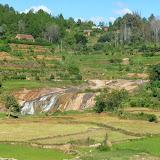 Paysage entre Tananarive et Périnet (Madagascar), 25 décembre 2013. Photo : J. Marquet