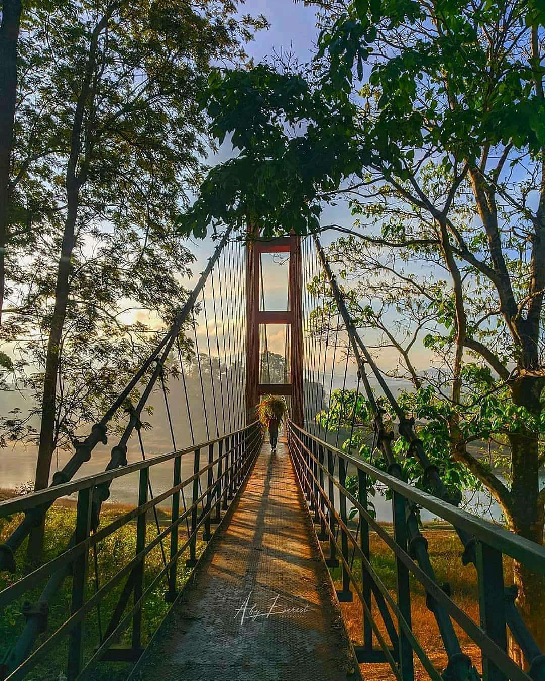 ayyappan kovil hanging bridge