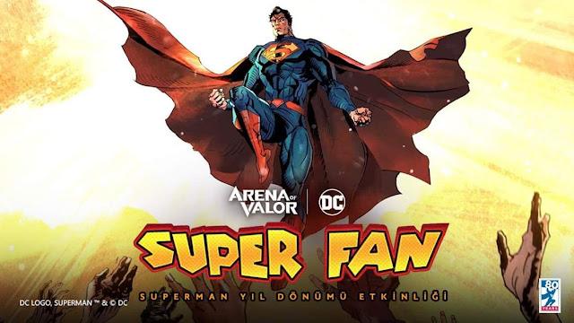 Süperman 80. Yıl Etkinliği - Arena of Valor