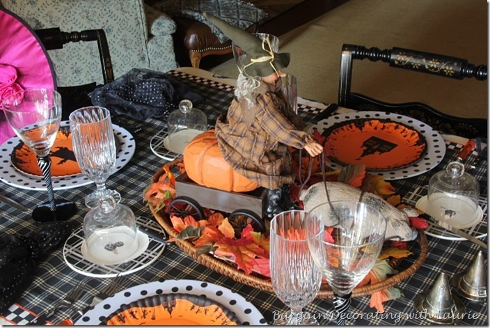 Bewitching Luncheon Centerpiece
