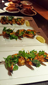 Mediterranean Exploration Company, Prawns with red charmula, parsley, preserve lemon
