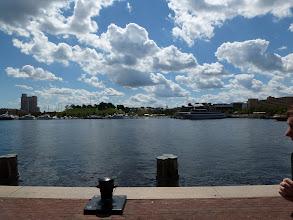 Photo: Inner harbour of Baltimore.