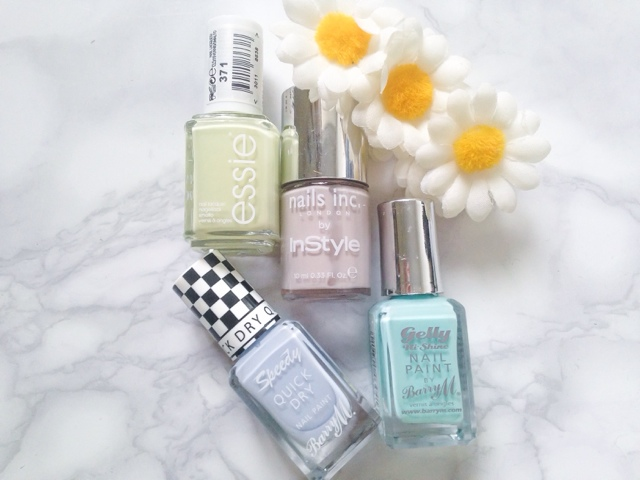 The Manicure Menu Barry M Sugar Apple Essie Chillato Nails Inc Sao Paolo Streets Barry M Eat My Dust