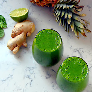 Ginger Lime Green Smoothie