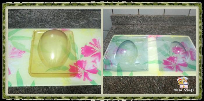 Formas para ovo de páscoa