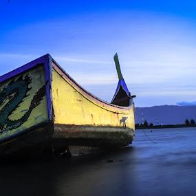 Bersandar by Muhammad Syuhada - Transportation Boats