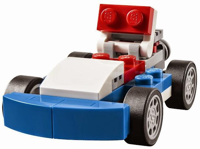 Xe đua xanh Blue Racer trông thật thể thao và phong cách