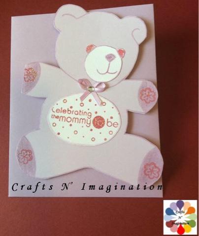 Crafts N Imagination Tarjeta De Invitacion Baby Shower