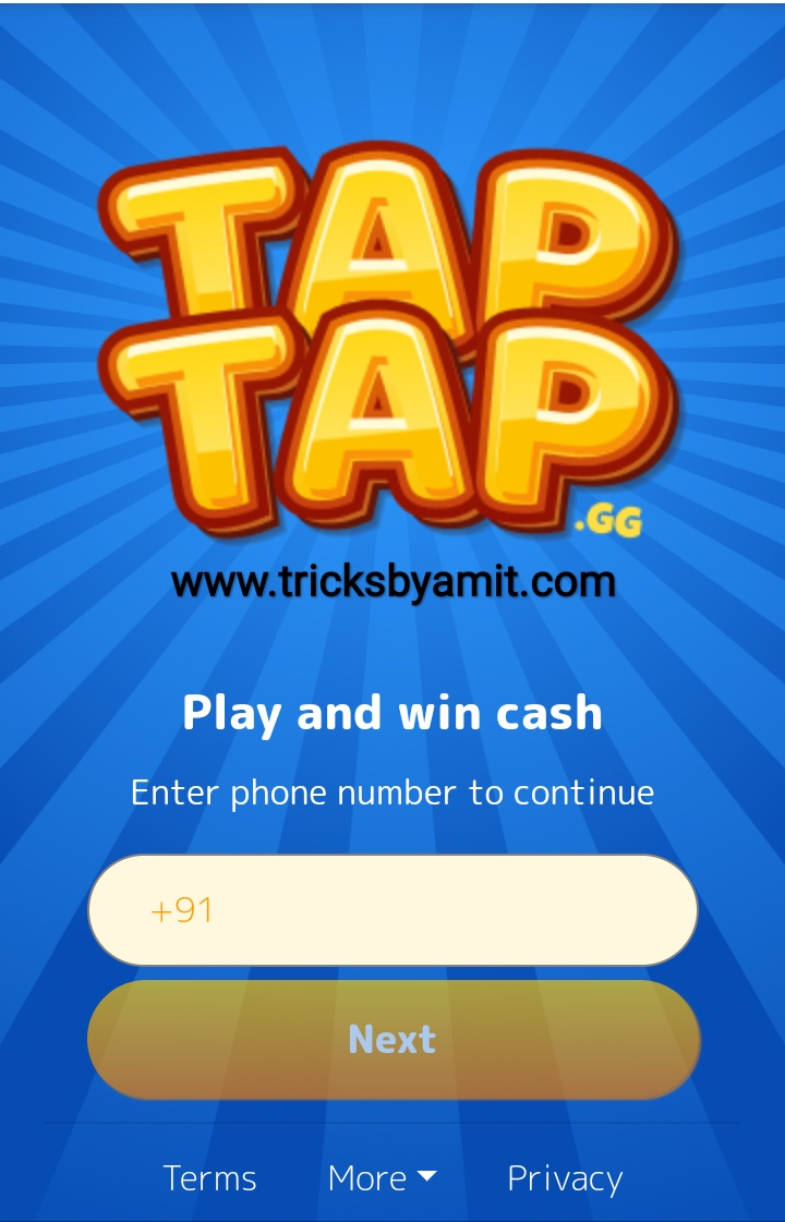TapTap Website Review - Earn Free Paytm Cash