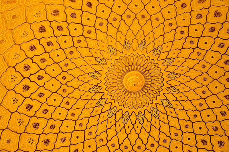 クアラルンプール イスラム美術博物館 天井