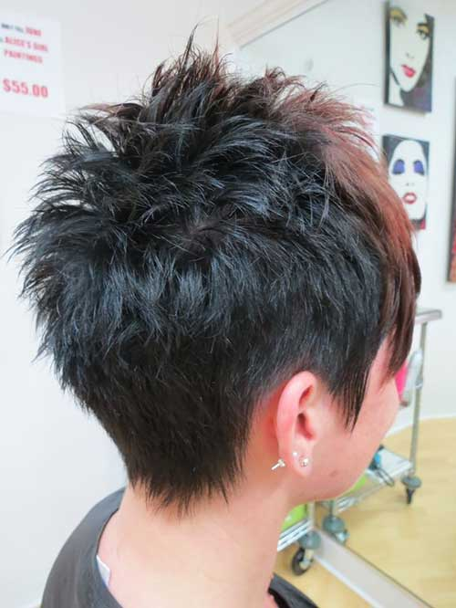 CRAZY SPIKY SHORT HAIRCUTS FOR LADIES &OLDER WOMEN 6