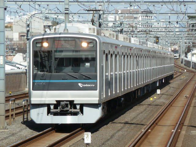 小田急電鉄 急行 向ケ丘遊園行き 3000形(東京電力計画停電に伴う運行)