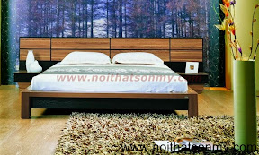 Giường ngủ gỗ ghép