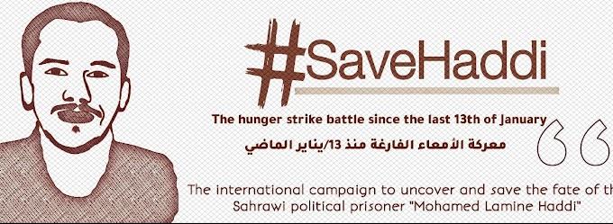 🗣️ Campaña internacional por descubrir el paradero del preso político saharaui Mohamed Lamin Haddi.