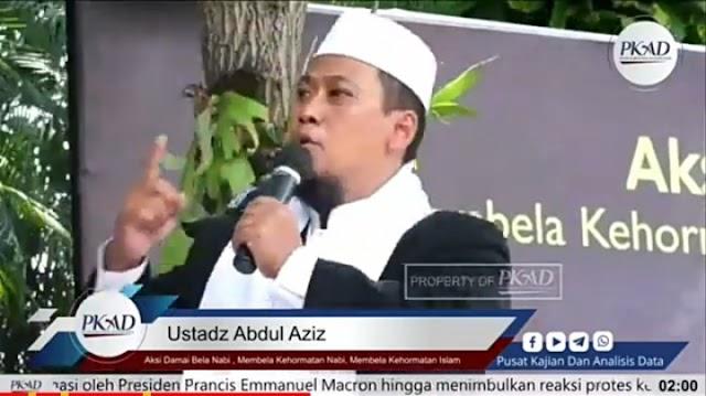 Rasulullah Terus Dihina, Ustaz Abdul Aziz: Solusinya Umat Harus Membangun Kekuatan Islam yakni Khilafah Islamiyah