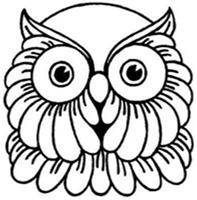 BUHO mascara de animales  para colorar (40)_thumb