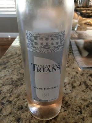 Sassy Wine Belly - Château Trians Rosé Vin de Provence 2015