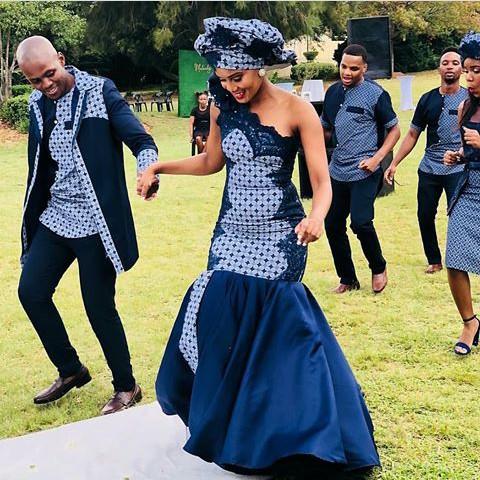Shweshwe Dresses For Woman 2018 3