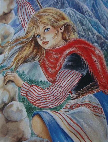 сербская девчонка