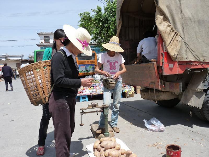 Chine. Yunnan Dali .En vélo vers le lac ERHAI - P1170669.JPG