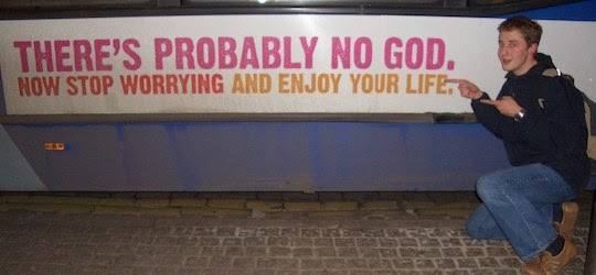 Sign: there's probably no God
