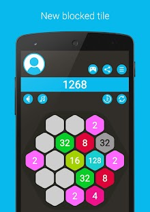 4096 Hexa - super 2048 puzzle- screenshot thumbnail
