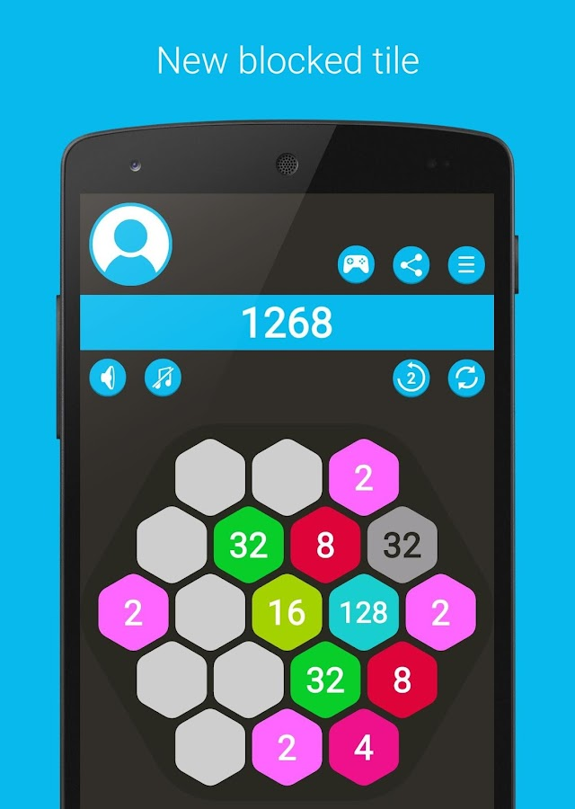 4096 Hexa - super 2048 puzzle- screenshot