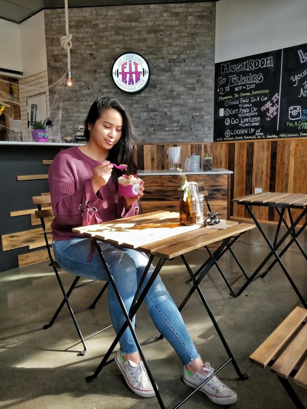 healthy vegan vegetarian acai seattle blogger
