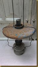 Kap lampu minyak langka hiasan kafe cofe coffe warung antik restoran classic