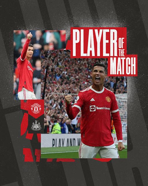 Cristiano Ronaldo Menjaringkan 2 Gol, Manchester United Kalahkan Newcastle United