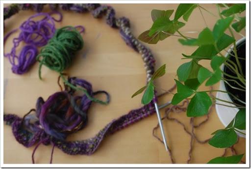 knitting kitchen table