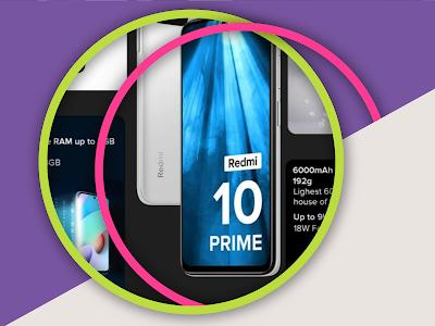 Le nouveau téléphone Xiaomi Redmi 10 Prime à petit prix et une batterie de 6000mAh