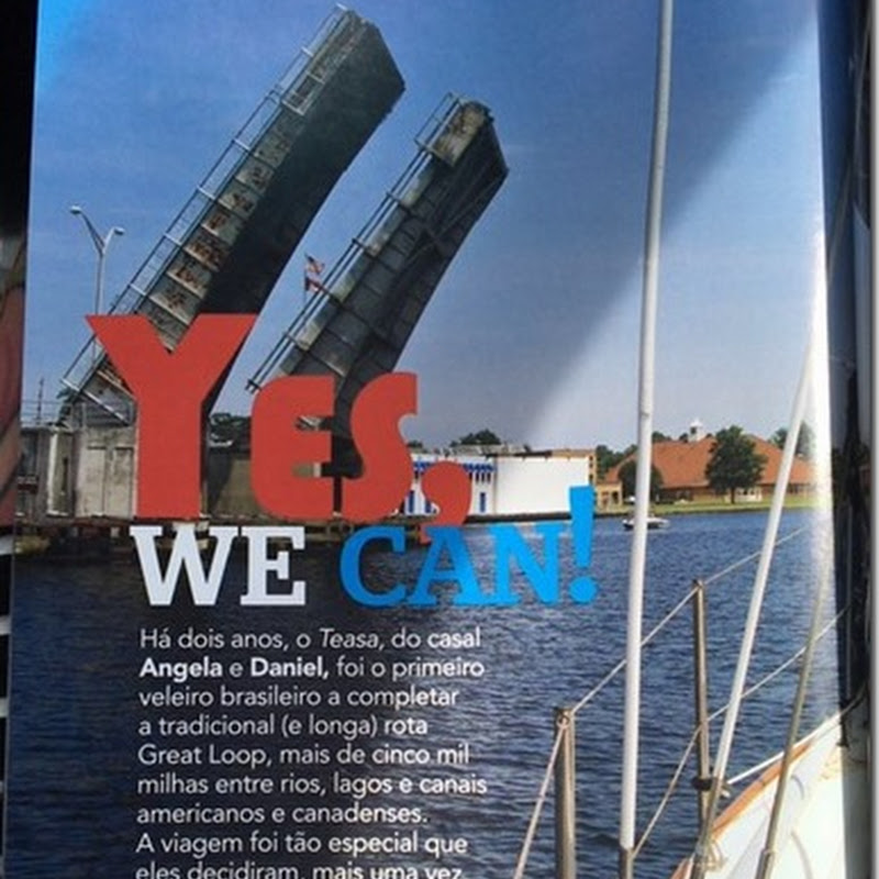 Yes, we can. By Revista Náutica