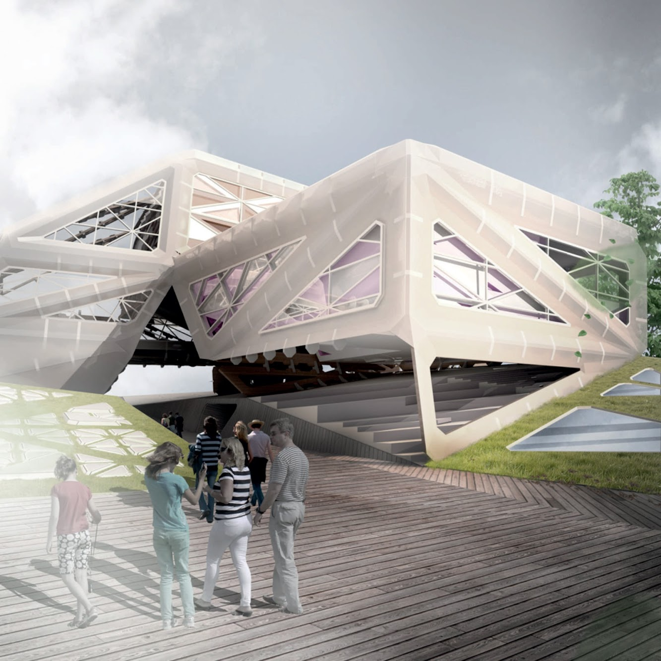 Almere Pampus Transferium by MetaStable Architecture