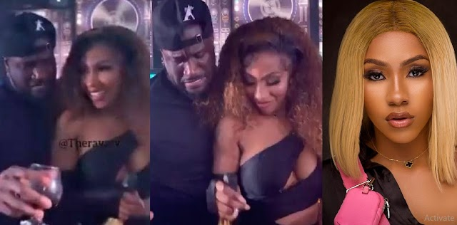 Video Of Peter Okoye And Mercy Eke Dancing Romantically Cause Commotion Online [Video]