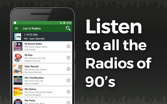 Download 90s Music Radio APK latest version app for android