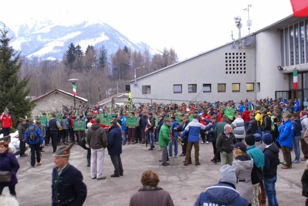 Campionato Nazionale ANA sci di fondo Piani di Bobbio - Campionati%2BNazionali%2BANA%2BBarzio%2Bapertura%2B6.JPG