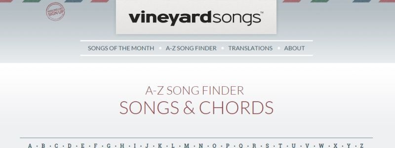 Guitar Chords and Lyrics for Worship Songs – 15 FREE Sites - Spread ...
