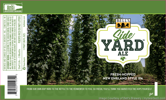 Bell's Adding NEW Side Yard Ale Cans