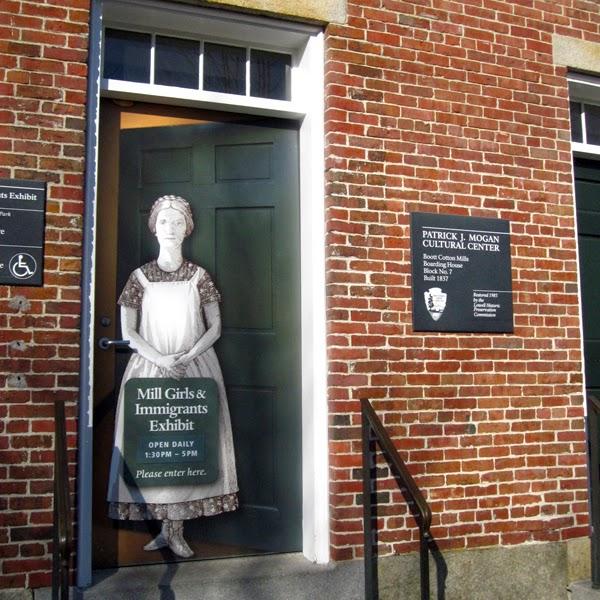 Mills Girls and Immigrants Exhibit, Lowell, Massachusetts