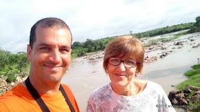 selfie al fiume ruaha