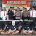 Kapolres Lampung Utara Gelar Konferensi Pers Tindak Pidana Korupsi dan Pertambangan Mineral dan Batubara