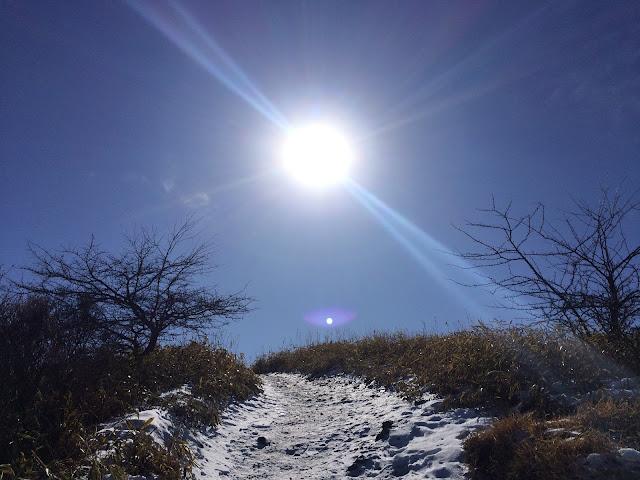 飯森山 登山