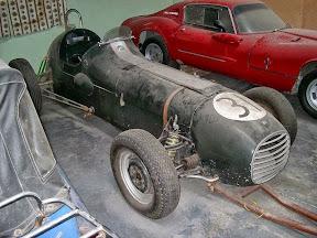 Abandoned Vintage Racer