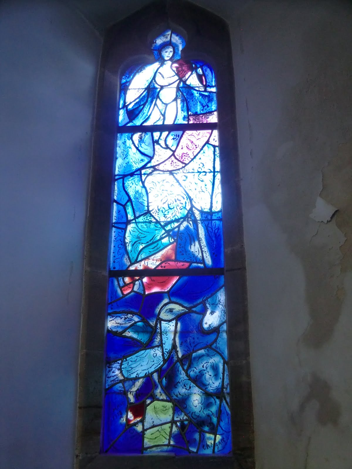 CIMG1564 Chagall window #6, All Saints church